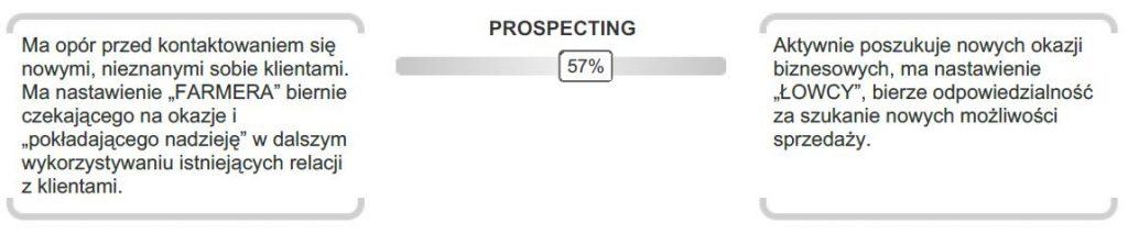 Tu powinien wyświetlić się zrzut z ekranu raportu Finxs Sales Assessment