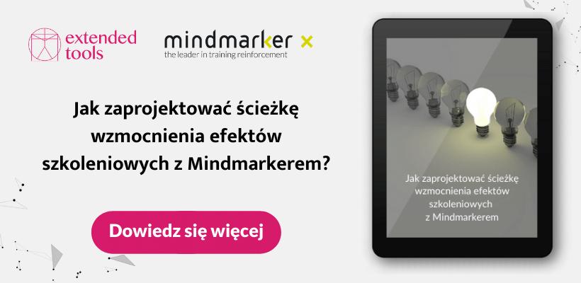 Dowiedz się, jak zaprojektować ścieżkę wzmocnienia efektów szkoleniowych z Mindmarkerem